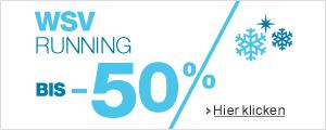 Sale 50% auf Laufbekleidung und Zubeh�r