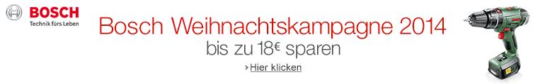 Bosch Weihnachtskampagne 2014