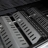 grillchef by landmann gasgrillwagen silber 128 x 56 x 104 cm garten. Black Bedroom Furniture Sets. Home Design Ideas