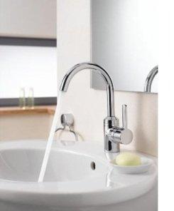 kludi bingo star 420300575 waschtisch einhebelmischer mit anschlagbegrenzung baumarkt. Black Bedroom Furniture Sets. Home Design Ideas