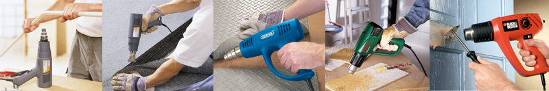 Heat guns are great for stripping wallpaper and other DIY jobs.
