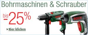 Bohrmaschinen & Schrauber