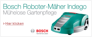 Bosch Indego Roboter - Mher