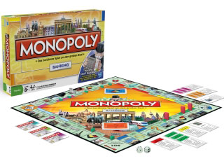 Monopoly Bankind das Spiel mit der Box