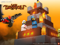 LEGO Spiele Lava Dragon