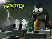 LEGO Spiele Monster 4