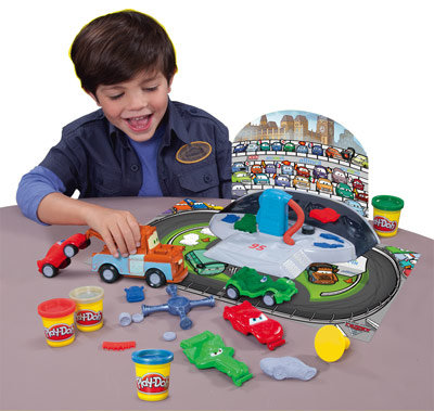 Play Doh - Cars Boxenstopp