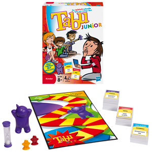 Hasbro 14334100 - Tabu Junior - Version 2011