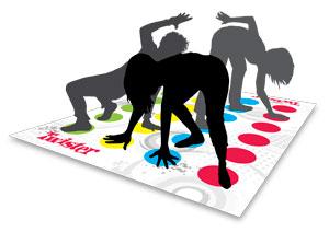 MB Spiele 98831100 - Twister - Neuauflage 2012
