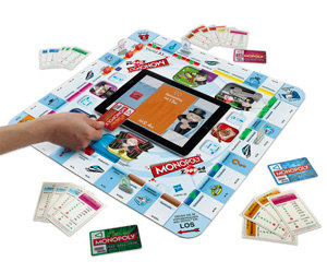 Monopoly 38115100 - Zapped, spielbar mit iPad, iPhone und iPod Touch