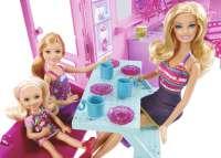 Mattel X8410 - Barbie und ihre Schwestern im Pferdeglück Deluxe Pferde- und Wohnmobil