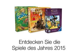 Spiele des Jahres 2015 entdecken