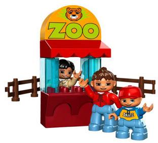 lego duplo zoo set deluxe familie