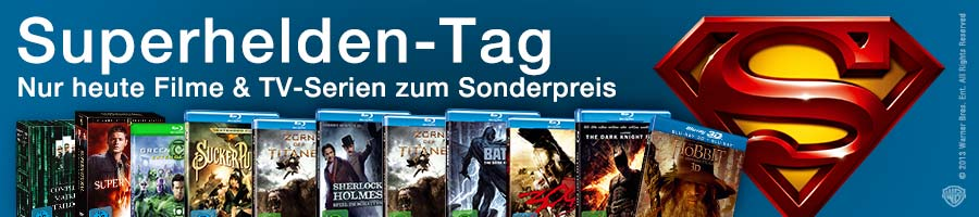 Superhelden-Tag bei Amazon.de