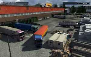 Euro Truck Spezial: LKW-Rangier-Simulator, Abbildung #01
