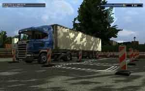 Euro Truck Spezial: LKW-Rangier-Simulator, Abbildung #07