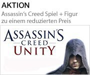 Aktion: Assassin's Creed Spiel + Figur