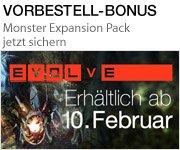 Evolve erscheint am 10. Februar - Vorbestell-Bonus jetzt sichern