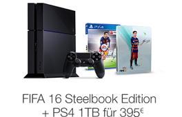 FIFA 16 - Deluxe Edition inkl. Steelbook