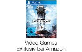 Exklusiv bei Amazon erhältliche Games
