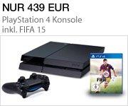 Sonderangebot: PS4 Konsole inkl. FIFA 15 für nur 439 EUR