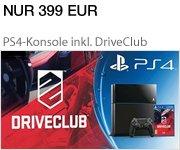 Sonderangebot: PS4 Konsole inkl. DriveClub für nur 399 EUR