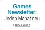 Der Games-Newsletter - Jeden Monat neu