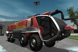 Flughafen-Feuerwehr-Simulator 2013, Abbildung #05