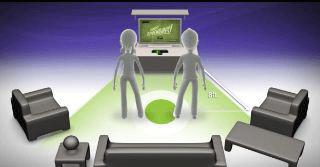 Kinect Spielfeld