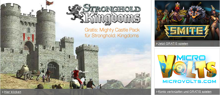 Stronghold Kingdoms, SMITE, MicroVolts