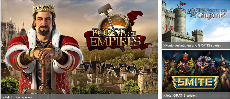 Forge of Empires, Stronghold Kingdoms, SMITE
