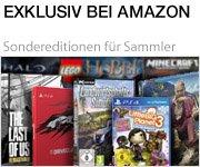 Exklusiv bei Amazon erhältliche Video Games