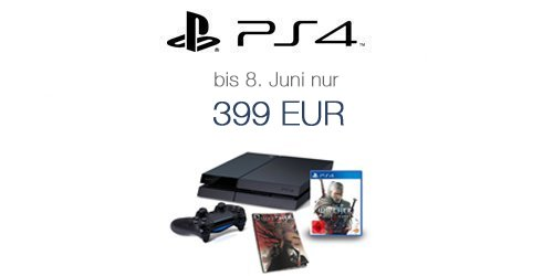 PS4+Witcher+Comic f�r 399 EUR