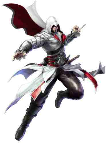 Ezio Auditore aus Assassin's Creed