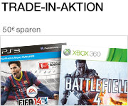 Trade-In-Aktion: FIFA 14 + Battlefield 4