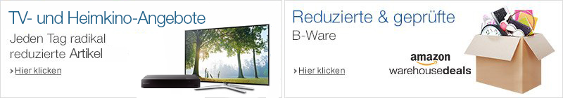 TV Deal des Tages und Warehouse Deals
