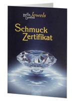 Schmuck-Zertifikat