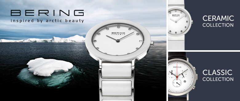 Bering Armbanduhren arctic beauty Ceramic Classic Collection