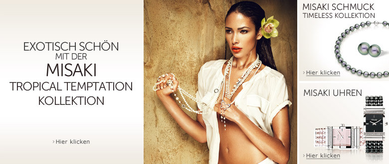 Misaki Schmuck Tropical Temptation Timeless Kollektion Uhren