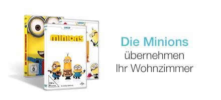 Die Minions auf DVD