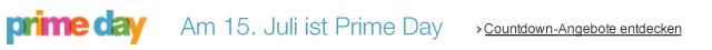 Am 15. Juli ist Prime Day. Countdown-Angebote entdecken