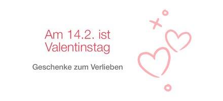 Valentinstag 2016: Geschenke zum Verlieben