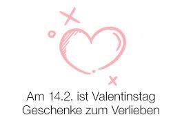 Am 14.2. is Valentinstag: Geschenke zum Verlieben