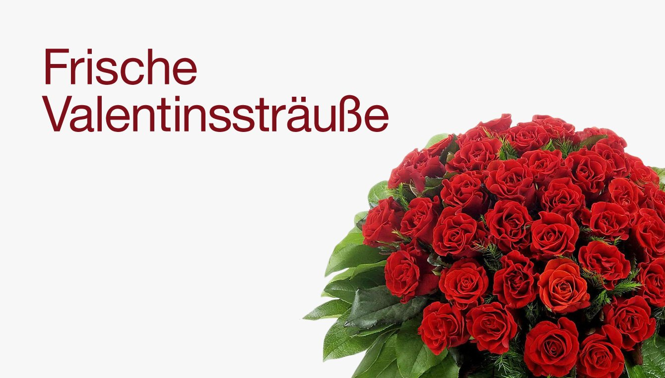Frische Valentinssträuße