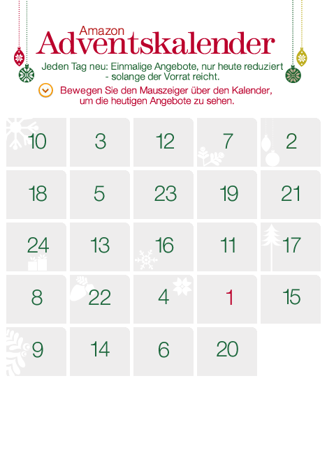Amazon Adventskalender 2013