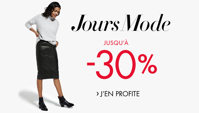 Promotion Jours Mode