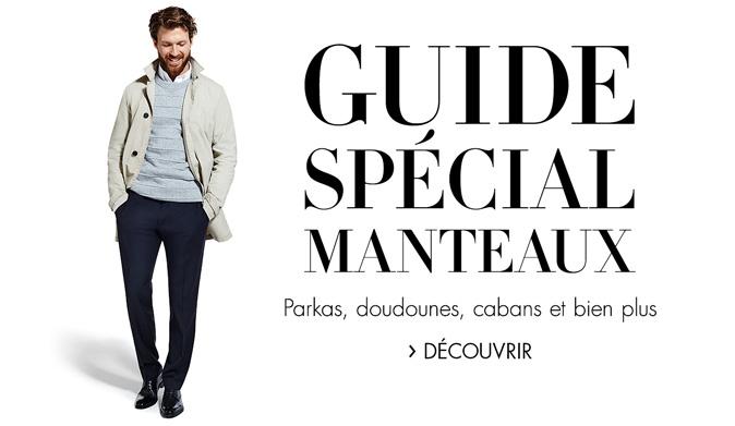 Guide spécial manteaux