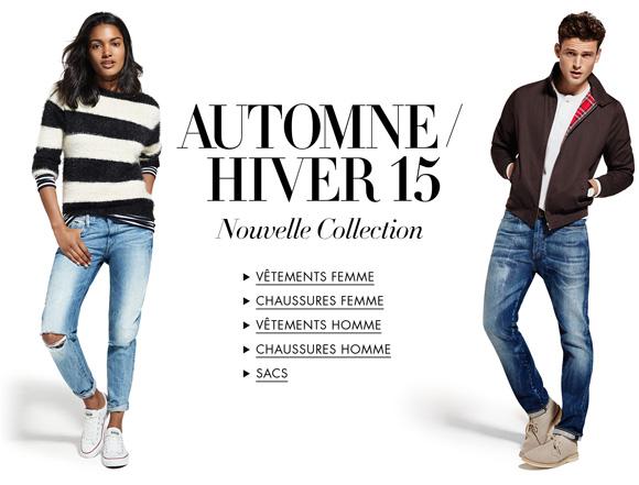Nouvelle Collection Automne Hiver 2015