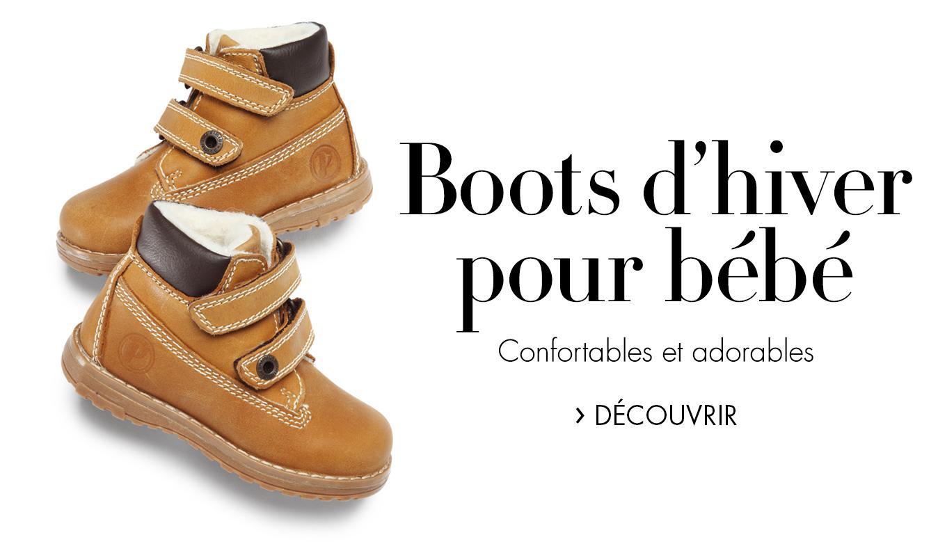Boots d'hiver pour bébé