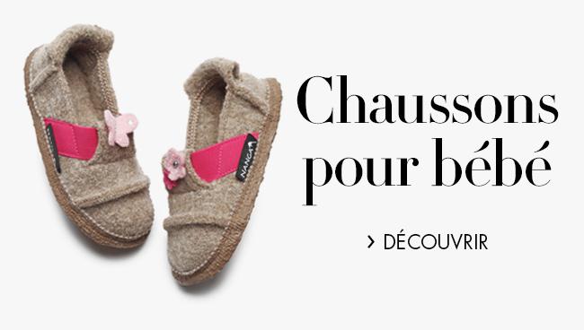 Chaussons pour bébé
